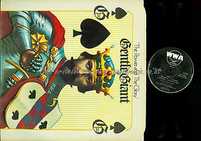 LP--Gentle Giant – The Power And The Glory // WWA010