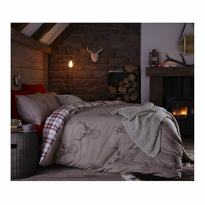 Catherine Lansfield Stag Bedding Set - Multi