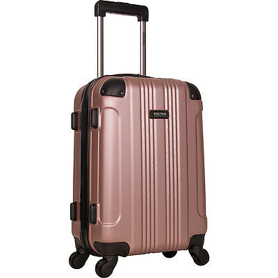 "Kenneth Cole Reaction Out of Bounds 20"" Molded Upright Hardside Carry-On NEW"
