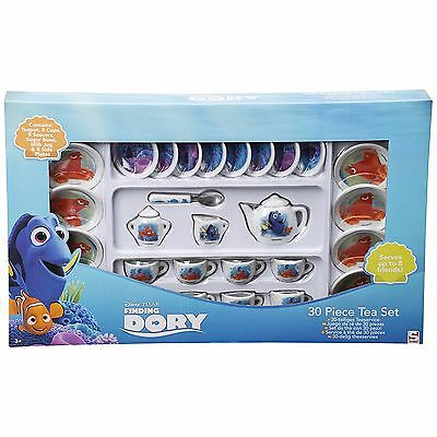 Disney FINDING DORY with Nemo 30pc Mini China TEA SET for 8 Friends