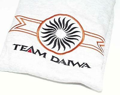 Team Daiwa Embroidered  Sweatshirt Mens Small New Gray