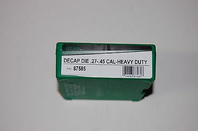 RCBS .27-.45 Cal Heavy Duty Decap Decapping Die 27-45