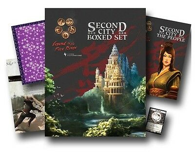 Aeg L5R Legend Of The Five Rings : Second City Box Set Collection Sealed
