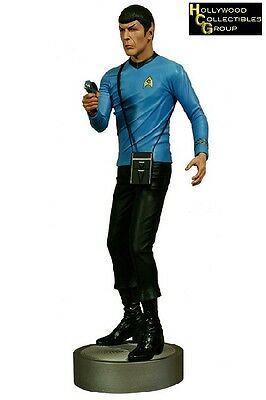 Hollywood Collectibles Group Star Trek Mr. Spock 1/4 Scale Polystone Statue New