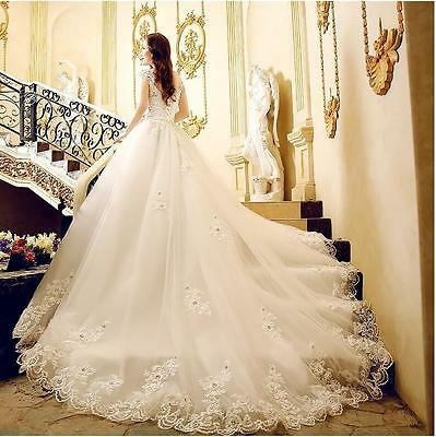 @@@ C New Robe de mariée mariage soirée wedding evening dress