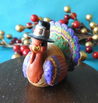 Hallmark Merry Miniature 1991 Turkey