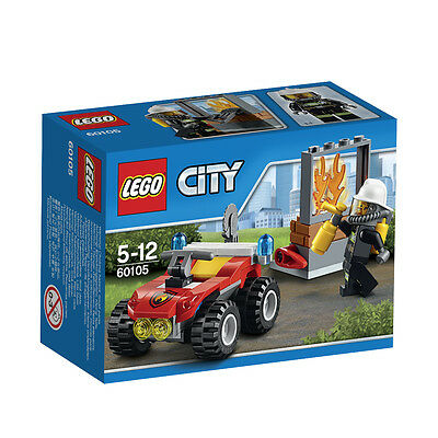 60105 LEGO Fire ATV City Fire Age 5-12 / 64 Pieces / NEW 2016 RELEASE!
