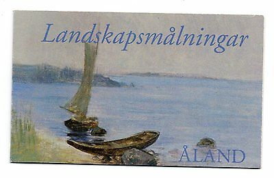 2003 ALAND Booklet Painting Landscape in Summer