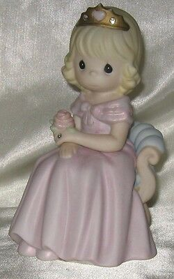 2005 Precious Moments Your Love Reigns In My Hearr Figurine