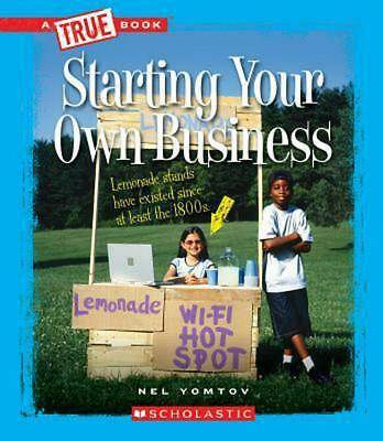 Starting Your Own Business by Nel Yomtov (English) Hardcover Book Free Shipping!