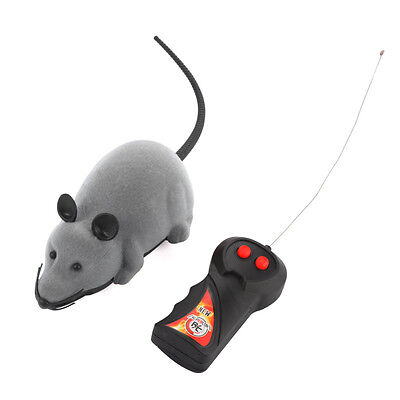 Remote Control RC Rat Mouse Mice Wireless for Cat Dog Pet Toy Novelty Gift Funny