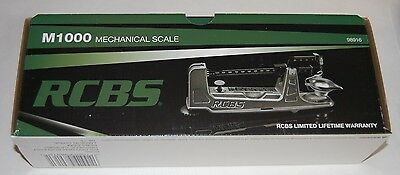 RCBS M1000 Mechanical Scale $10 FACTORY MONEY BACK REBATE