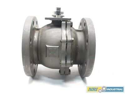 4 In 150 Steel Flanged Ball Valve