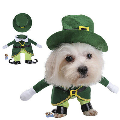 TAONMEISU Pet Dog Cat Prince Green Jumpsuits Adorable Puppy Apparel Cute Costume
