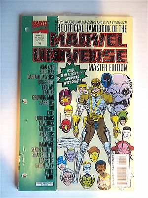Marvel Comic Book - OFFICIAL HANDBOOK OF THE MARVEL UNIVERSE Master Ed. SEALED