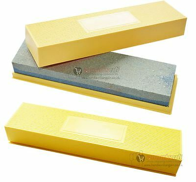 8 inch Sharpening Stone and Box Set Knives Scissors Chisels