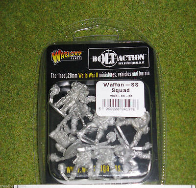 Bolt Action WAFFEN SS SQUAD  Warlord Games 28mm
