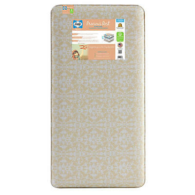 New Sealy Precious Rest Crib and Toddler Mattress Model:9692487