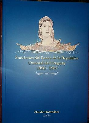 2016 URUGUAY Banco Republica SPECIALIZED CATALOGUE of BANKNOTES - NEW  !!!