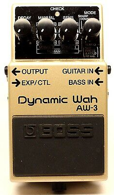 used Boss AW-3 Dynamic Wah, Excellent condition