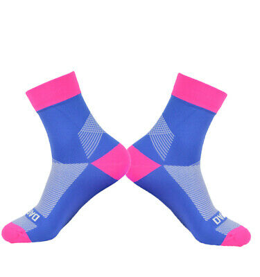 Socks Unisex Breathable Darevie Blue/Pink 38 - 44