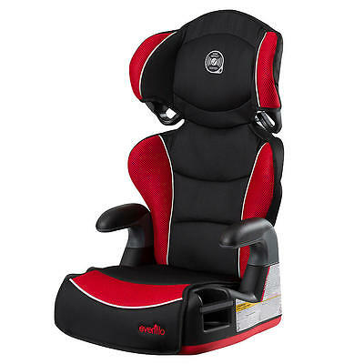 New Evenflo Big Kid Amp High Back Booster Car Seat - Heatwave Model:21147218