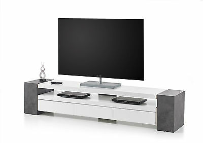 tv lowboard jule matt wei asteiche eur 379 90 picclick de. Black Bedroom Furniture Sets. Home Design Ideas
