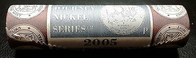 2005-P Journey Nickel Series BISON Mint Wrapped Roll - FREE COMBINED S/H