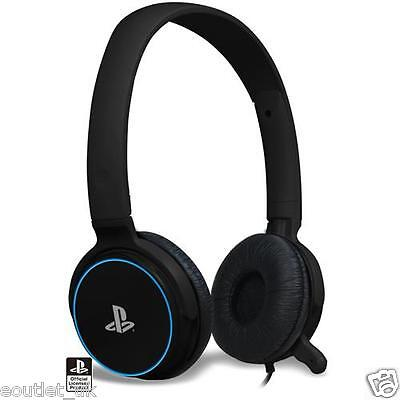 Playstation 3 Officially Licensed CP-01 Stereo Gaming Headset (PS3) - Black NEW