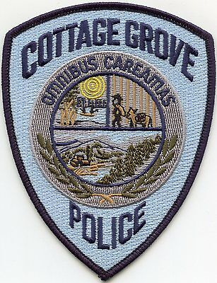 Cottage Grove Oregon Or Police Patch