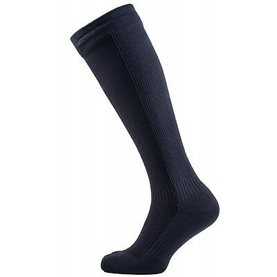 SealSkinz Hiking Mid Weight Knee Length Socks - Black / Anthracite