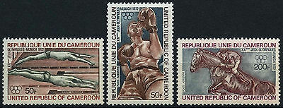 Cameroun 1972 SG#6653-5 Olympic Games MNH Set #D35362