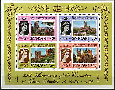 St. Vincent 1978 SG#MS560 Coronation 25th Anniv MNH M/S #D35178