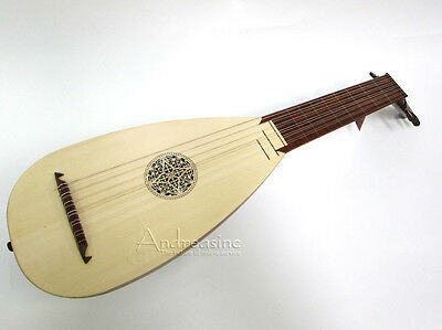 Roosebeck 7-Course Travel Size Lute New Sheesham Wood - Ltt7R