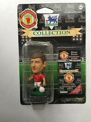 Vintage Corinthian Football Figures Blister Pack MU 06 Denis Irwin Man utd 1995