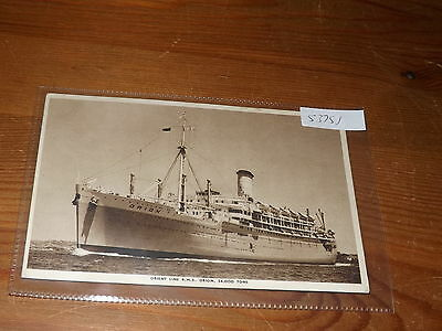 Old SHIP  postcard our ref #53758 ORIENT LINE RMS ORION