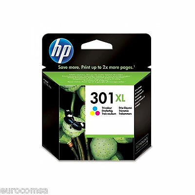 CARTUCCIA ORIGINALE HP CH564E 301XL TRICOLOR PER HP DeskJet 2510 2511 2512 2514