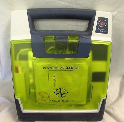Free Shipping! Cardiac Science AED G3 Powerheart W/ Carry Case