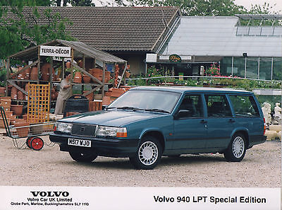 Volvo 940 LPT Special Edition Press Photograph - 1994