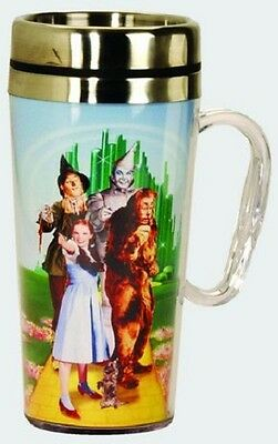 Wizard Of Oz Acrylic & Stainless Steel Travel Mug With Handle: Foursome