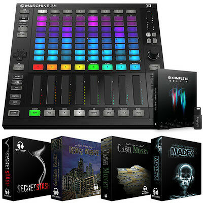 Native Instruments Maschine Jam with Komplete 11 Select Music Production Suite