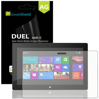 3x Anti-Glare Screen Protector Film Cover For Microsoft Surface Pro 2 / 8 / RT
