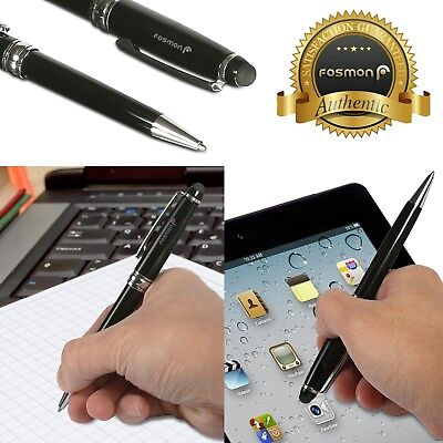 2in1 Touch Screen Stylus + Ballpoint Pen iPad iPhone Galaxy Smartphone Tablet PC