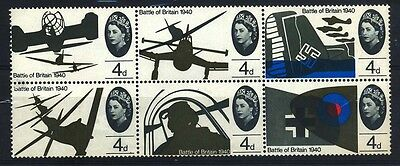 1965 Great Britain - Battle Of Britain 1940 - Block - Muh - J39