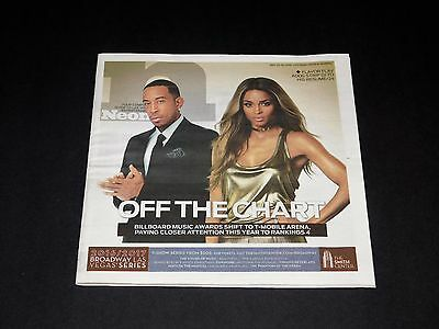 Neon Magazine May '16 Billboard Music Awards Preview Issue Ludacris / Ciara NEW