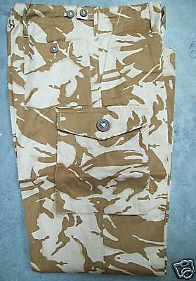 """NEW - TWO x PAIRS Army Issue DESERT DPM Camo Combat Trousers 80/96/112 38"""" Waist"""