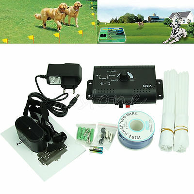 Underground Electric Dog Fence System Waterproof Shock Collars For Pet Dog Hot