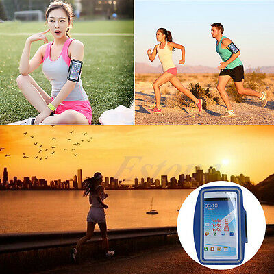 Running Jogging Sports Gym Arm Band Case Cover For Samsung Note5 S7 Edge S6 Edge