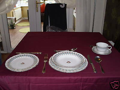 TITANIC - 1st CLASS DINNER SERVICE  FROM THE FILM SET