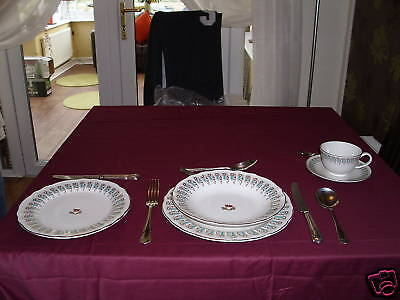 TITANIC - 1st CLASS DINNER SERVICE  - DIRECT FROM THE FILM SET OF ' TITANIC '